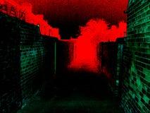 Ufos posteriores del pasillo Fotografía de archivo libre de regalías