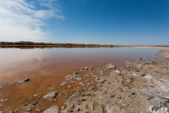 Ugab river mouth Royalty Free Stock Photography