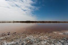 Ugab river mouth Royalty Free Stock Image