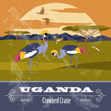 Uganda, Africa. Retro styled image. Royalty Free Stock Photo