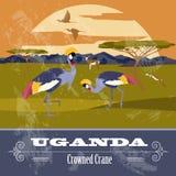 Uganda, Africa. Retro styled image. Royalty Free Stock Photo