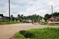 Uganda, afryka środkowa Obrazy Stock