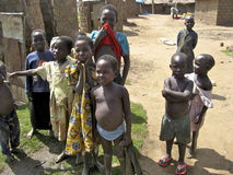 Uganda Children Stock Photo