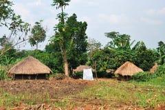 Uganda, ländliche Region Stockfotos