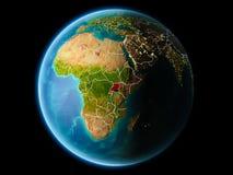 Uganda por la tarde Imagen de archivo libre de regalías