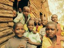 Uganda ungar Arkivbilder