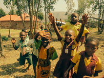 Uganda ungar Royaltyfri Bild