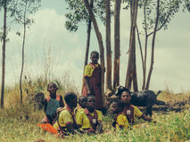 Uganda ungar Arkivfoton