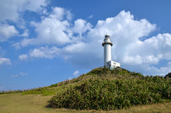Uganzaki Lighthouse Stock Photography