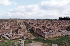 Ugarit废墟 免版税库存图片