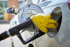 Ugelli del passaggio del gas della benzina immagini stock libere da diritti