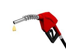 Ugelli della pompa di gas Immagine Stock