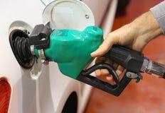 Ugello del passaggio del gas del petrolio Immagini Stock Libere da Diritti