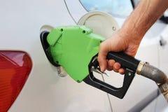 Ugello del passaggio del gas del petrolio Fotografia Stock