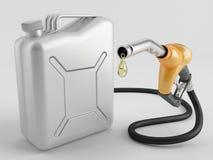 Ugello di rifornimento di carburante Illustrazione di Stock