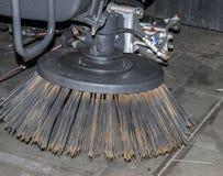 Ugello di spazzola del metallo Fotografia Stock