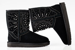 UGG enche botas Foto de Stock Royalty Free