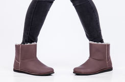 Ugg-Schuhe Lizenzfreies Stockfoto
