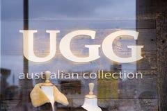UGG store Royalty Free Stock Image