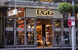 UGG store Stock Images