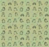 Uggleunge-sömlös textur Royaltyfri Fotografi