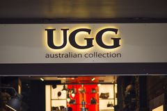 Uggopslag Royalty-vrije Stock Foto's