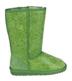 Green uggs Royalty Free Stock Image