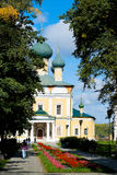 Uglich - an ancient city on the Volga River Stock Images