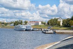 Uglich - an ancient city on the Volga River Stock Photography
