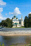 Uglich - an ancient city on the Volga River Royalty Free Stock Photo