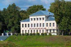 Uglich - en forntida stad på Volgaet River Fotografering för Bildbyråer