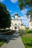 Uglich - en forntida stad på Volgaet River Royaltyfria Foton