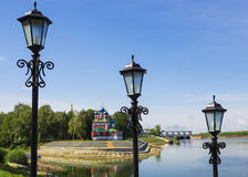 Uglich. Golden Ring of Russia. Stock Photos