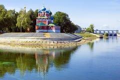 Uglich Goldener Ring von Russland stockfoto