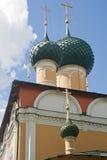 Uglich 1824 katedralnych fabryk zakładał sposobów nevyansk właścicieli pyatiprestolny kamiennego transfiguraci yakovlev Zdjęcie Stock