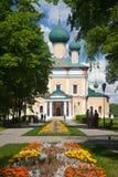 Uglich 1824 katedralnych fabryk zakładał sposobów nevyansk właścicieli pyatiprestolny kamiennego transfiguraci yakovlev Fotografia Stock