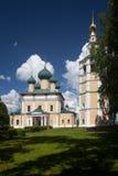 Uglich 1824 katedralnych fabryk zakładał sposobów nevyansk właścicieli pyatiprestolny kamiennego transfiguraci yakovlev Obrazy Stock