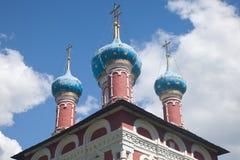 Uglich Kościół Dimitri na krwi zdjęcia royalty free
