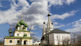 Uglich, monastery of St. Alexey Royalty Free Stock Images
