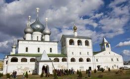 Uglich, Russia, Resurrection monastery Royalty Free Stock Photos