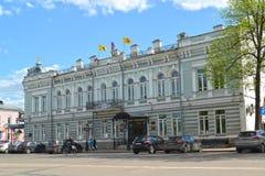 Uglich, Russie Chambre des négociants Evreinov, d'administration et de douma du secteur de municipal d'Uglich Région de Yaroslavl photos libres de droits