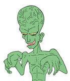 Ugly alien Stock Photography