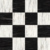 Ugly checkered flooring. Black and white checkered floor tiles with texture.  This tiles seamlessly as a pattern Stock Photography