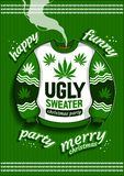 Ugly Christmas Sweater royalty free illustration