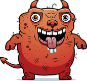 Ugly Devil Standing Stock Photography