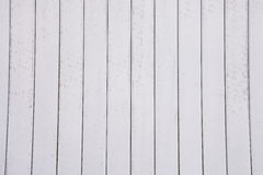 Ugly dirt old white steel sheets on building Royalty Free Stock Photos