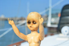 Horror Doll Royalty Free Stock Images
