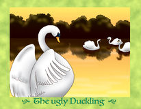 The ugly duckling 25 Happy Ending Royalty Free Stock Images
