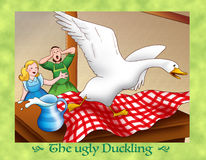 The ugly duckling 18 a new house Stock Photo