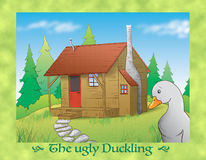The ugly duckling 13 the old cabin Stock Photography